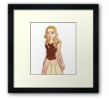 Lady of Rohan Framed Print
