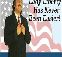 Ron Jeremy - Lady Liberty by Sparkalicious