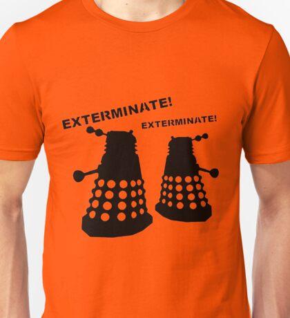 Dalek - Doctor Who - Exterminate! Unisex T-Shirt