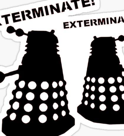 Dalek - Doctor Who - Exterminate! Sticker
