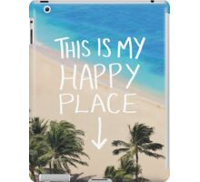 Happy Place iPad Case/Skin