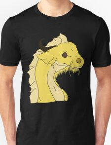Whiskered Dragon (Simple Ver.) - Yellow T-Shirt