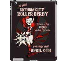Gotham City Roller Derby iPad Case/Skin