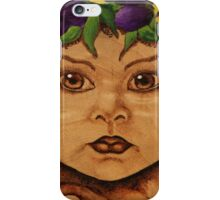 Pyrography: Garden Wood Nymph iPhone Case/Skin