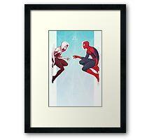 Spider Love Framed Print