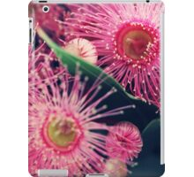 Pink Gum Nut Tree Flowers iPad Case/Skin