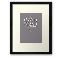 Chandelier by Artist Elisa Piron Framed Print