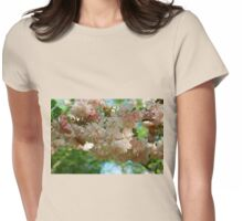 Cherry Blossoms in Brooklyn Womens Fitted T-Shirt