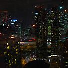 Toronto by night by MarianBendeth
