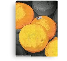 Orange Appeal Canvas Print