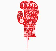 Boxing Glove Typography - the Fight of the Century Unisex T-Shirt