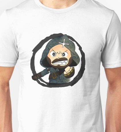 Angry Grimaud Unisex T-Shirt