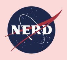 NASA Nerd Logo Parody Kids Clothes