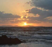 Sunrise at Yeppoon by kdub-art