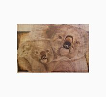 Pyrography: Koala Mother and Baby Unisex T-Shirt