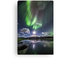 Low moon II Canvas Print