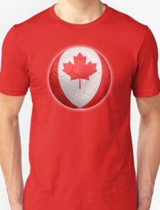 Canada - Canadian Flag - Football or Soccer 2 T-Shirt