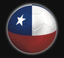 Chile - Chilean Flag - Football or Soccer 2 T-Shirt