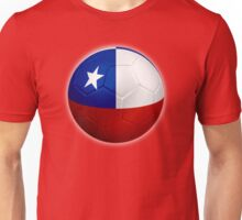 Chile - Chilean Flag - Football or Soccer 2 Unisex T-Shirt
