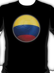 Columbia - Columbian Flag - Football or Soccer 2 T-Shirt