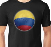Columbia - Columbian Flag - Football or Soccer 2 Unisex T-Shirt