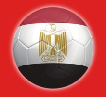 Egypt - Egyptian Flag - Football or Soccer 2 Kids Tee