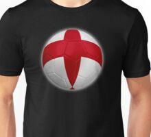 England - English Flag - Football or Soccer 2 Unisex T-Shirt