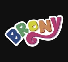 Brony Logo - Rainbow Kids Clothes