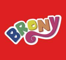Brony Logo - Rainbow Kids Clothes