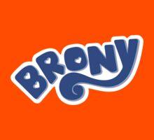 Brony Logo - Blue Kids Clothes