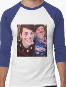 Dan & Phil (requested)  Men's Baseball ¾ T-Shirt