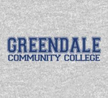GREENDALE College Jersey (blue) Baby Tee