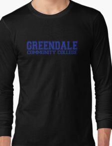 GREENDALE College Jersey (blue) Long Sleeve T-Shirt