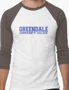 GREENDALE College Jersey (blue) Men's Baseball ¾ T-Shirt