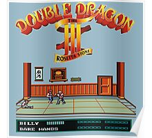 Double Dragon 3 Poster