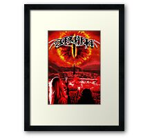 Saruman Heavy Metal Framed Print