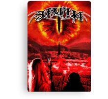 Saruman Heavy Metal Canvas Print