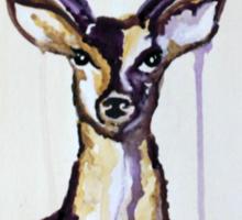 Watercolour Deer Sticker