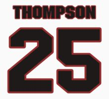 NFL Player Chris Thompson twentyfive 25 by imsport