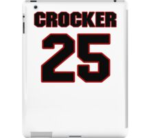 NFL Player Chris Crocker twentyfive 25 iPad Case/Skin