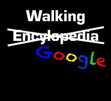 Walking Google by Jonlynch