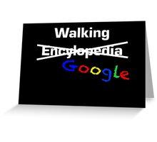 Walking Google Greeting Card
