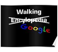 Walking Google Poster