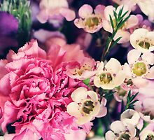 Mixed Flowers with Pink Peonie by chunkymonkey