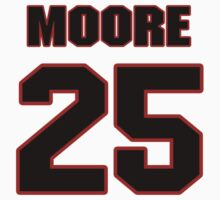 NFL Player William Moore twentyfive 25 by imsport