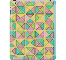 7 DAYS OF SUMMER- TEAL GEOMETRIC PILLOWS AND TOTES iPad Case/Skin