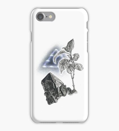 Cell-phone Call Home iPhone Case/Skin