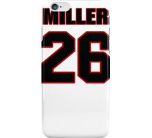 NFL Player Lamar Miller twentysix 26 iPhone Case/Skin