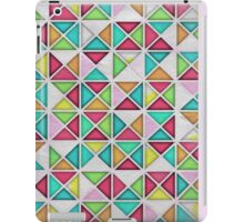 7 DAYS OF SUMMER- PINK GEOMETRIC PILLOWS AND TOTES iPad Case/Skin