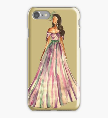 The Belle Of The Ball (Gold Version) iPhone Case/Skin